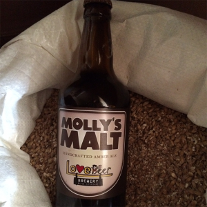 Molly's Malt beer