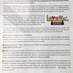 Live Brewing - If you love beer