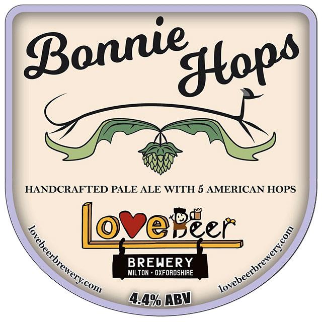 Bonnie Hops pump clip