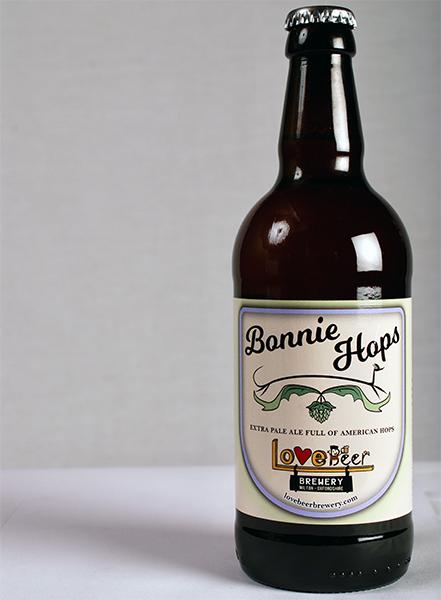 Bonnie Hops bottled beer
