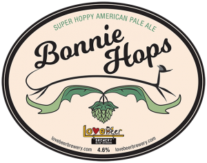 Bonnie Hops beer clip