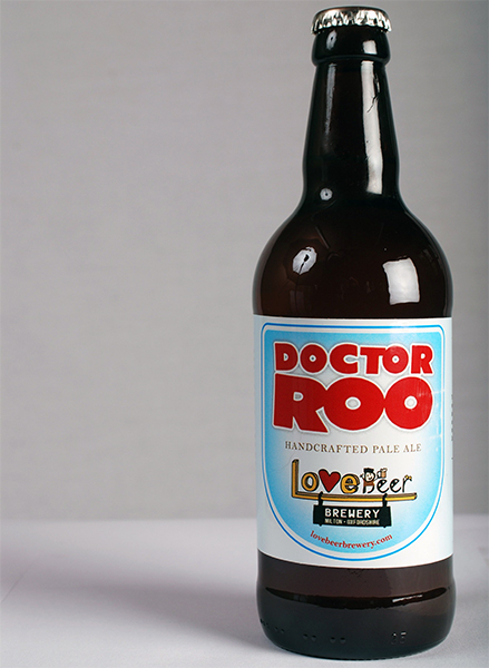 Doctor Roo bottled beer